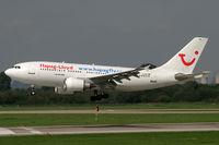 D-AIDF @ EDDL - Airbus 310 Hapag Lloyd - by Triple777