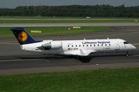D-ACHI @ EDDL - Canadair RJ-200LR Lufthansa Regional - by Triple777