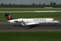D-ACJA @ EDDL - Cananadair CL-600 Lufthansa Regional - by Triple777