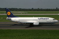 D-ABEA @ EDDL - Boeing 737-300 Lufthansa - by Triple777