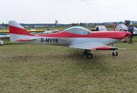 D-MYYB @ EDMT - D-MYYB at Tannheim 24.8.13 - by GTF4J2M