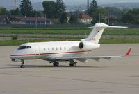 D-BUBI @ LOWG - Windrose Air Bombardier BD-100-1A10 Challenger 300 - by Andi F
