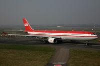 D-AERQ @ EDDL - Airbus 330 LTU - by Triple777