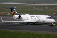 D-ACRJ @ EDDL - Canadair RJ-200ER Lufthansa Regional - by Triple777