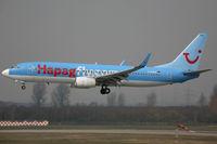 D-AHFM @ EDDL - Boeing 737-800 Hapagfly - by Triple777