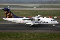 D-BMMM @ EDDL - ATR42 Lufthansa Regional - by Triple777