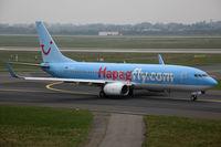 D-AHFA @ EDDL - Boeing 737-800 Hapagfly - by Triple777