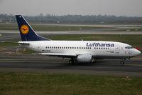D-ABJD @ EDDL - Boeing 737-500 Lufthansa - by Triple777