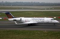 D-ACRH @ EDDL - Canadair CL600 Lufthansa Regional - by Triple777