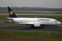 D-ABJH @ EDDL - Boeing 737-500 Lufthansa - by Triple777
