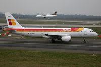EC-HUJ @ EDDL - Airbus 320 Iberia