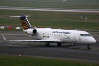 D-ACRP @ EDDL - Canadair RJ-200ER Lufthansa Regional - by Triple777