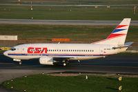 OK-WGD @ EDDL - Boeing 737-500 CSA Czech Airlines