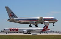 N336AA @ MIA - American 767-200
