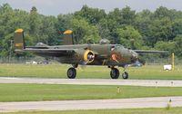 N345BG @ YIP - Georgie's Gal B-25