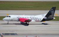 N347AG @ FLL - Silver Airways Saab 340
