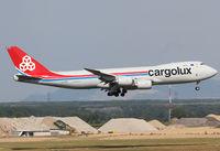 LX-VCC @ LOWW - Cargolux Boeing 747-8F - by Andreas Ranner