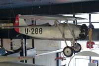HB-RAE - HB-RAE U-288  Swiss AF  preserved at Swiss Transport Museum, Lucerne - by GTF4J2M