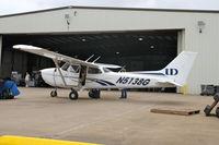N5138G @ KIOW - Advertising the University of Dubuque flight school - by Glenn E. Chatfield