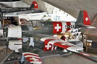 A-251 @ LSMD - Swiss Air Force - by Volker Hilpert