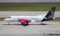 N351AG @ FLL - Silver Airways Saab 340B