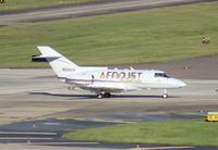 N359CF @ TPA - Hawker 800A Afrojet used by Electronic music DJ Afrojack