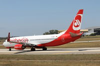 D-ABBJ @ LMML - B737-800 D-ABBJ Air Berlin - by Raymond Zammit