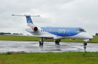 G-RJXK @ EGSH - Just landed on a wet day. - by Graham Reeve