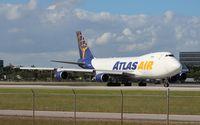 N418MC @ MIA - Atlas Air 747-400F