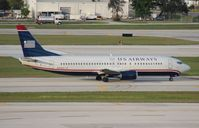 N433US @ FLL - US Airways 737-400