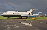N908JE @ EGHL - After the storm at ATC - by John Coates