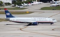 N439US @ FLL - US Airways 737-400