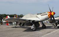 N451MG @ LAL - P-51D Old Crow at Sun N Fun
