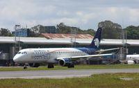 XA-IAC @ MGGT - ERJ 190-100 LR - by Mark Pasqualino