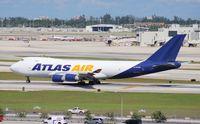 N475MC @ MIA - Atlas Air 747-400