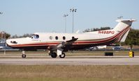 N488PG @ ORL - Pilatus PC-12