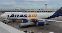 N496MC @ MIA - Atlas 747-400F