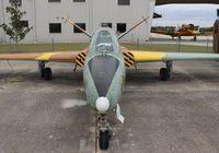 N504DM @ ISM - Fouga CM-170R Magister