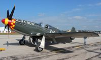 N551E @ YIP - P-51B Old Crow owned by NASCAR team owner Jack Roush