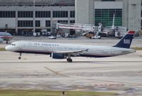 N554UW @ MIA - US Airways A321