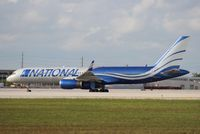 N567CA @ MIA - National 757-200