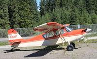 C-GXZT @ YDA - Tied down at Dawson City, Yukon - by Murray Lundberg