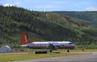 C-FAGI @ CYDA - Taxiing to the terminal at Dawson City, Yukon. - by Murray Lundberg