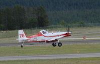 C-GSYF @ CYXY - Taking off at Whitehorse, Yukon. - by Murray Lundberg