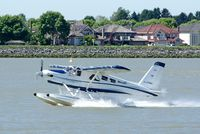 C-FPMA @ YVR - Take off from the Fraser River - by metricbolt