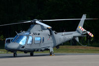 15037 @ ESDF - Agusta Hkp15B helicopter of the Swedish Defense Helicopter Wing at Ronneby Air Base - by Henk van Capelle