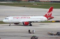 N625VA @ FLL - Virgin America A320