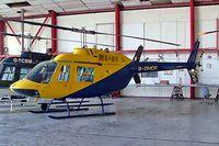 G-OMDR @ EGMC - Agusta-Bell AB-206B-3 Jet Ranger III [8610] Southend~G 11/10/2008