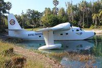 N693S - Grumman HU-16D Albatross at the Royal Pacific Resort near Universal Studios Theme Park Orlando
