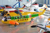 53-4774 @ RJNH - On display at JASDF Hamamatsu Kohokan. - by Arjun Sarup
